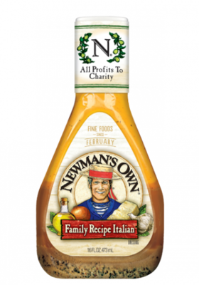 Salad Dressing, Newman's Own® Italian Family Recipe Salad Dressing (16 oz Bottle)