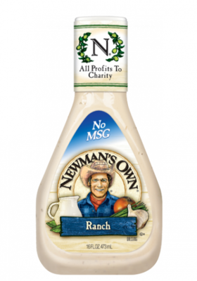 Salad Dressing, Newman's Own® Ranch Salad Dressing (16 oz Bottle)