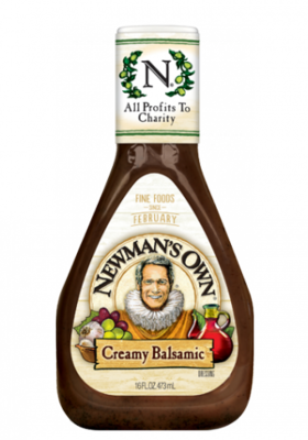 Salad Dressing, Newman's Own® Creamy Balsamic Salad Dressing (16 oz Bottle)