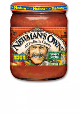Salsa, Newman's Own® Medium Chunky Farmer's Garden Salsa (16 oz Jar)