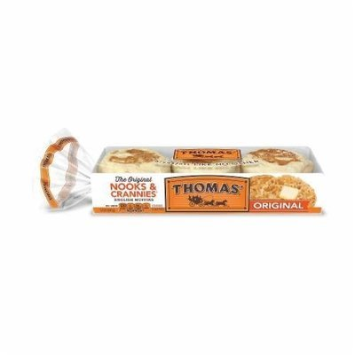 English Muffins, Thomas® Original English Muffins (6 Count, 12 oz Bag)
