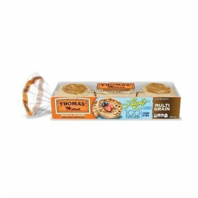 English Muffins, Thomas® Light Multigrain English Muffins (12 oz, 6 Count Bag)