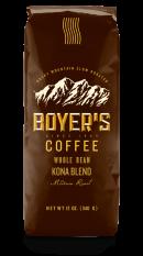 Ground Coffee, Boyer's® Kona Blend™ Ground Coffee (12 oz Bag)