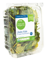 Fresh Salad Greens, Simple Truth Organic™ Baby Kale (5 oz Tray)
