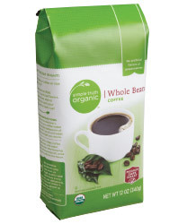 Bean Coffee, Simple Truth™ Dark Medium Roast® Whole Bean Coffee (11 oz Bag)
