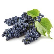 Fresh Grapes, Organic Black Grapes (16 oz Bag)