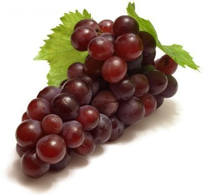 Fresh Grapes, Organic Red Grapes (16 oz Bag)