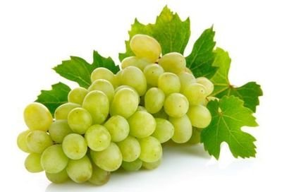Fresh Grapes, Organic Green Grapes (16 oz Bag)