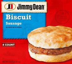 Frozen Breakfast Biscuit, Jimmy Dean® Biscuit