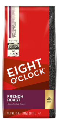 Ground Coffee, Eight O'Clock® French Roast Ground Coffee (12 oz Bag)