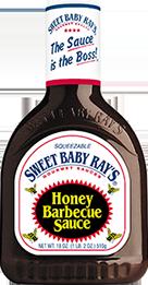 BBQ Sauce, Sweet Baby Ray's® Honey BBQ Sauce (18 oz Bottle)