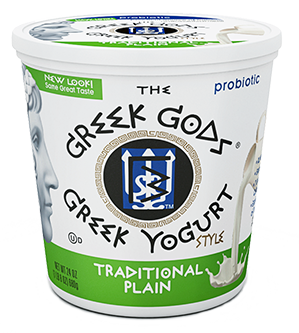 Yogurt, The Greek Gods® Traditional Plain Yogurt (24 oz Cup)