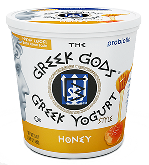 Yogurt, The Greek Gods® Honey Yogurt (24 oz Cup)