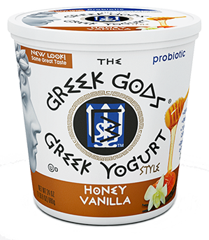 Yogurt, The Greek Gods® Honey Vanilla Yogurt (24 oz Cup)
