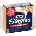 Cheese, Kraft® American Singles Cheese (12 oz Bag, 16 Count)
