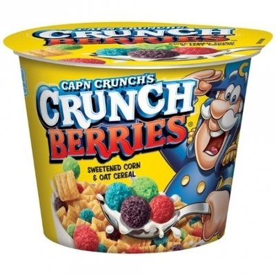 Cereal, Quaker Oats® Cap'n Crunch® Berries Cereal (1.29 oz Cup)