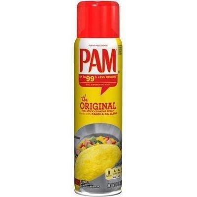 Cooking Spray, Pam® Original Cooking Oil Spray (6 oz Spray Can)