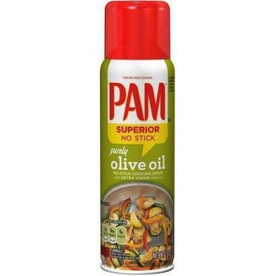 Cooking Spray, Pam® Cooking Spray with Olive Oil (5 oz Spray Can)
