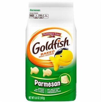 Goldfish Crackers, Pepperidge Farm® Goldfish® Parmesan Crackers (6.6 oz Bag)