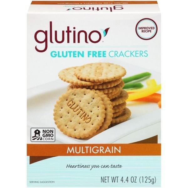 Crackers, Glutino® Gluten Free Multigrain Crackers (4.4 oz Box)