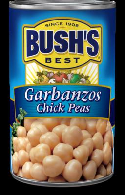 Canned Garbanzo Beans, Bush's® Garbanzo Beans (16 oz Can)