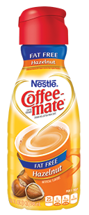 Coffee Creamer, Coffee-Mate® Hazelnut, Fat Free (32 oz Bottle)