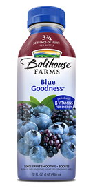 Juice Drink, Bolthouse Farms® Blue Goodness® (15.2 oz Bottle)
