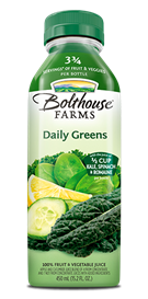 Juice Drink, Bolthouse Farms® Daily Greens™ (15.2 oz Bottle)