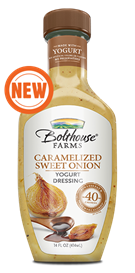 Salad Dressing, Bolthouse Farms® Caramelized Sweet Onion, 14 oz Bottle