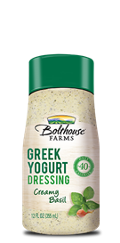 Salad Dressing, Bolthouse Farms® Creamy Basil Greek Yogurt, 12 oz Bottle