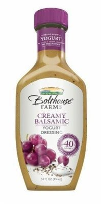 Salad Dressing, Bolthouse Farms® Creamy Balsamic Yogurt Dressing (14 oz Bottle)