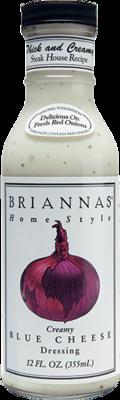 Salad Dressing, Brianna's® Creamy Blue Cheese Salad Dressing (12 oz Bottle)