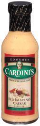 Salad Dressing, Cardini's® Red Jalapeño Caesar Salad Dressing (12 oz Bottle)