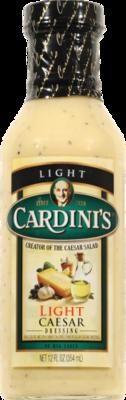 Salad Dressing, Cardini's® Light Caesar Salad Dressing (12 oz Bottle)
