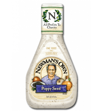 Salad Dressing, Newman's Own® Poppy Seed Salad Dressing (16 oz Bottle)