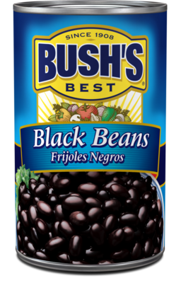 Canned Beans, Bush's® Black Beans (15 oz Can)