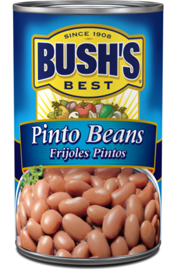 Canned Pinto Beans, Bush's® Pinto Beans (16 oz Can)