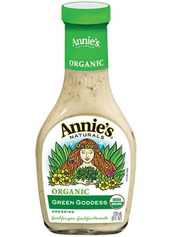 Salad Dressing, Annie's® Green Goddess Salad Dressing, Organic (16 oz Bottle)