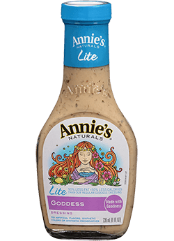 Salad Dressing, Annie's® Goddess Salad Dressing, Lite (8 oz Bottle)
