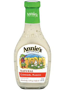 Salad Dressing, Annie's® Cowgirl Ranch Dressing (16 oz Bottle)