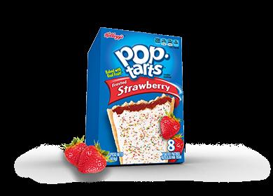Toaster Pastries, Kellogg's® Pop Tarts® Chocolately Strawberry, Frosted, 14.7 oz Box (8 per Box)
