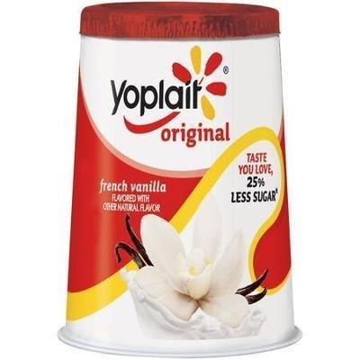 Yogurt, Yoplait® Original French Vanilla Yogurt (6 oz Cup)
