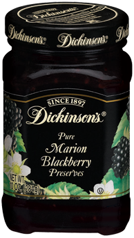 Fruit Spread, Dickinson's® Marion Blackberry Preserves (10 oz Jar)