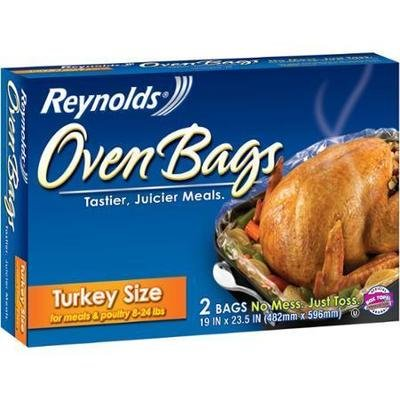 Oven Bags, Reynolds® Turkey Size Oven Bags (2 Bags per Box)