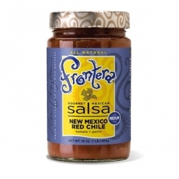 Salsa, Frontera® New Mexico Red Chile Salsa, Medium (28 oz Jar)