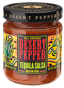 Salsa, Desert Pepper® Gluten Free Medium Tequila Salsa (16 oz Jar)