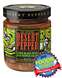 Salsa, Desert Pepper® Medium Corn Black Bean Red Pepper Salsa (16 oz Jar)