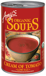 Canned Organic Soup, Amy's® Organic Cream of Tomato Soup (14.5 oz Can)
