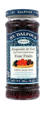 Fruit Spread, St. Dalfour® Four Fruits (10 oz Jar)
