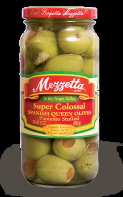 Preserved Olives, Mezzetta® Pimiento Stuffed Olives (10 oz Jar)